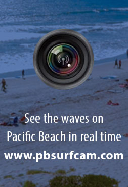 Pacific Beach in real time