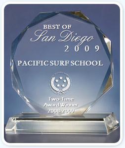 Award Winner - Pacific Surf School