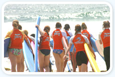 Women in the Surf Class