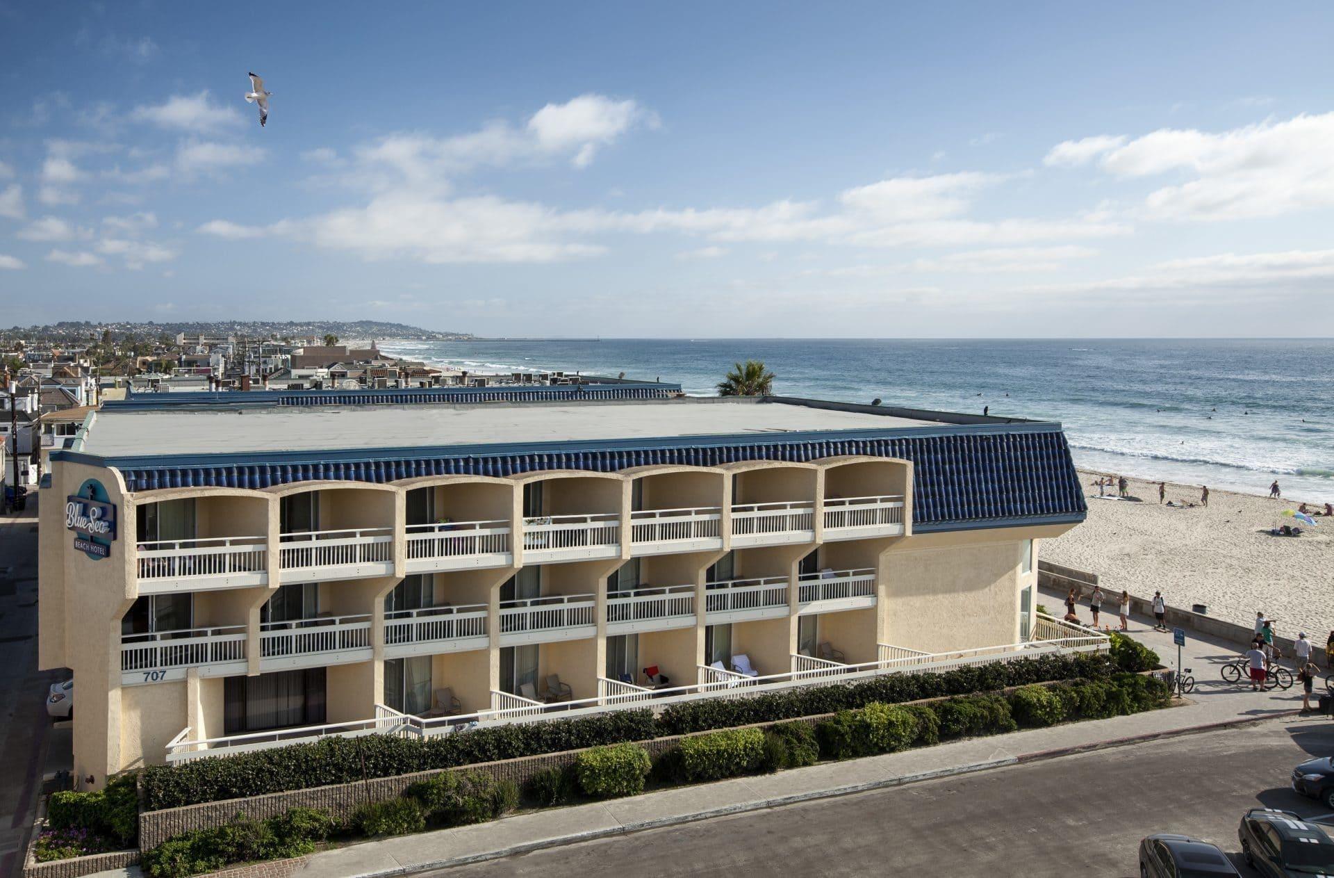 Beachfront San Diego Hotel