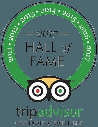 Hall of Fame 2017 TripAdvisor